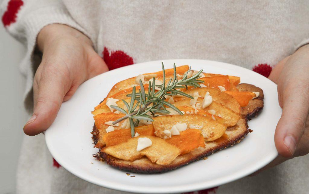tarte fine coing potiron érable
