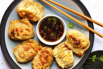 raviolis frit à la coréenne